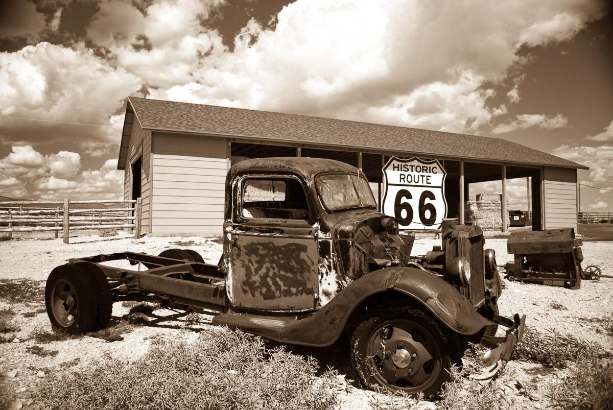 Rosty Truck