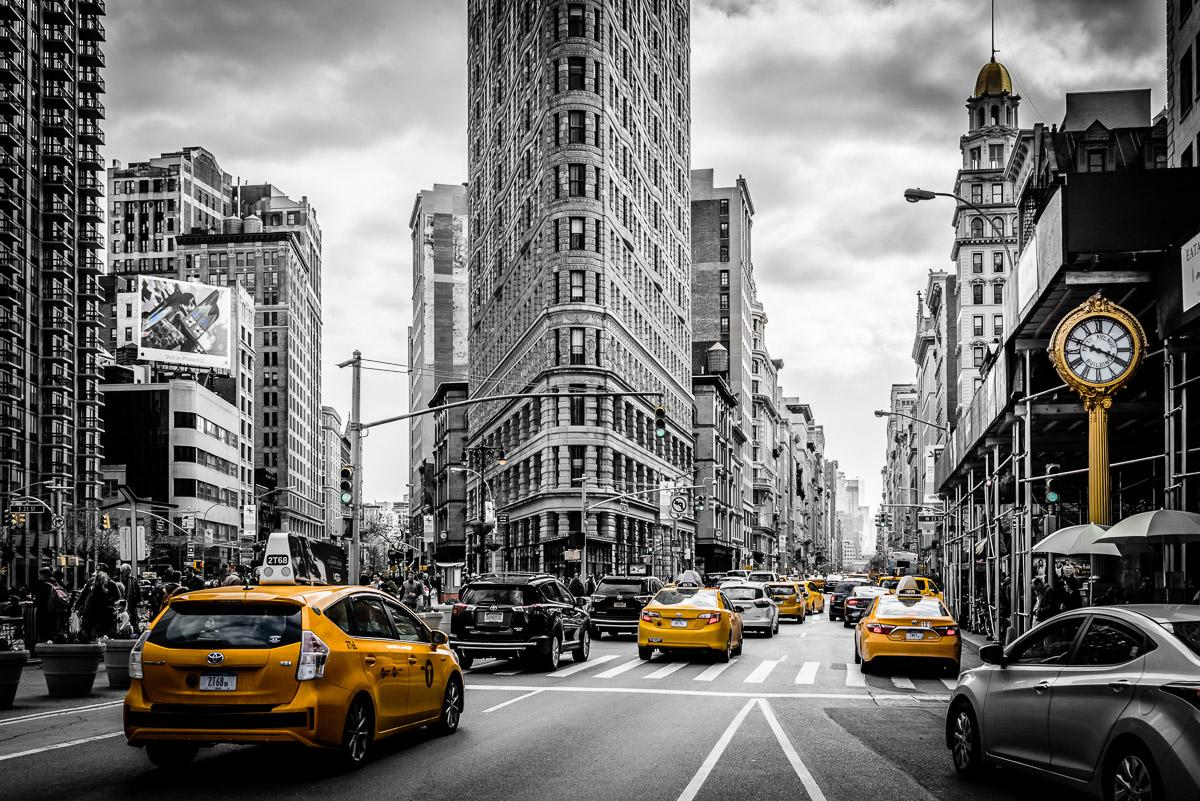 Gelbe Taxis