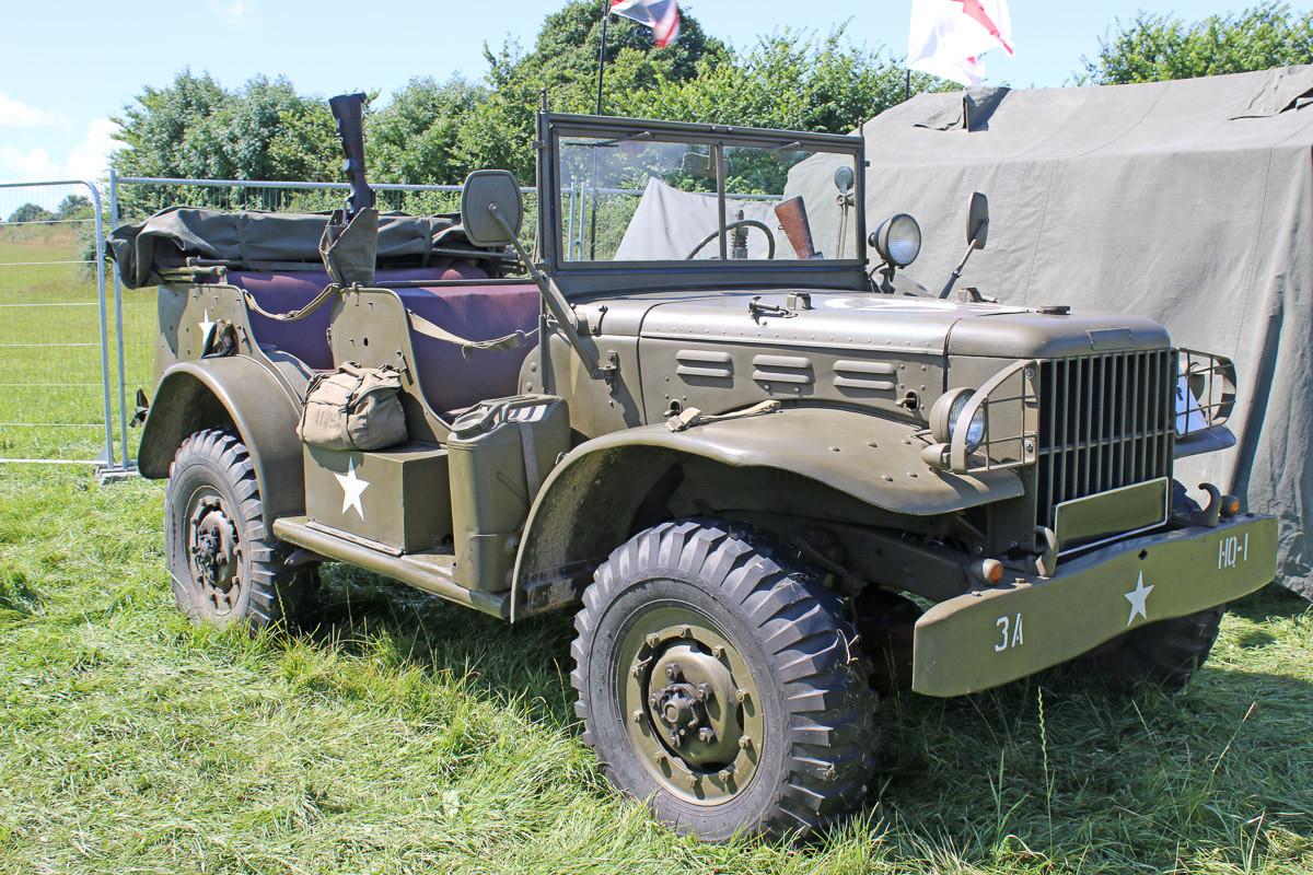 Vintage Militär Jeep