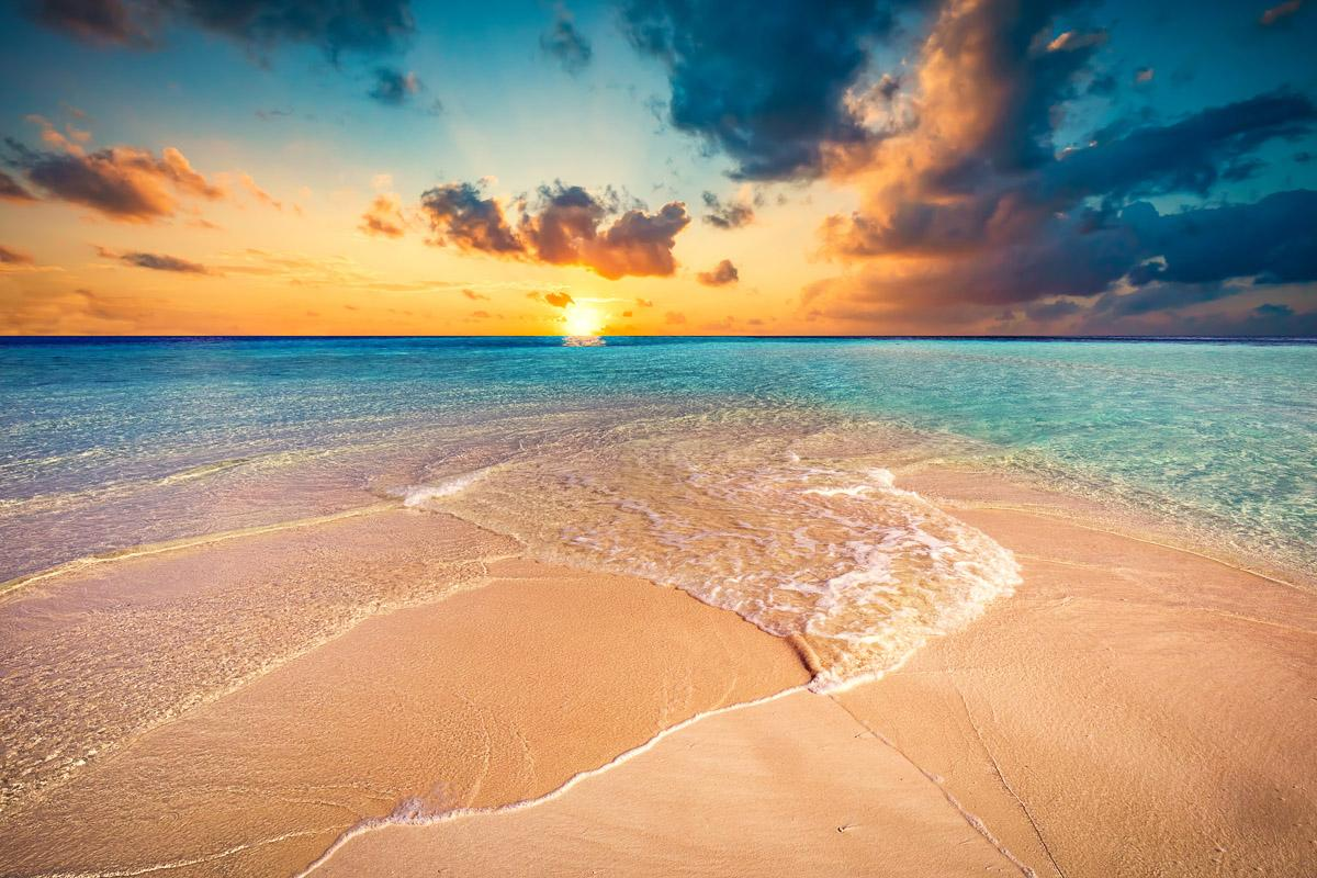 Tropischer Strand Malediven