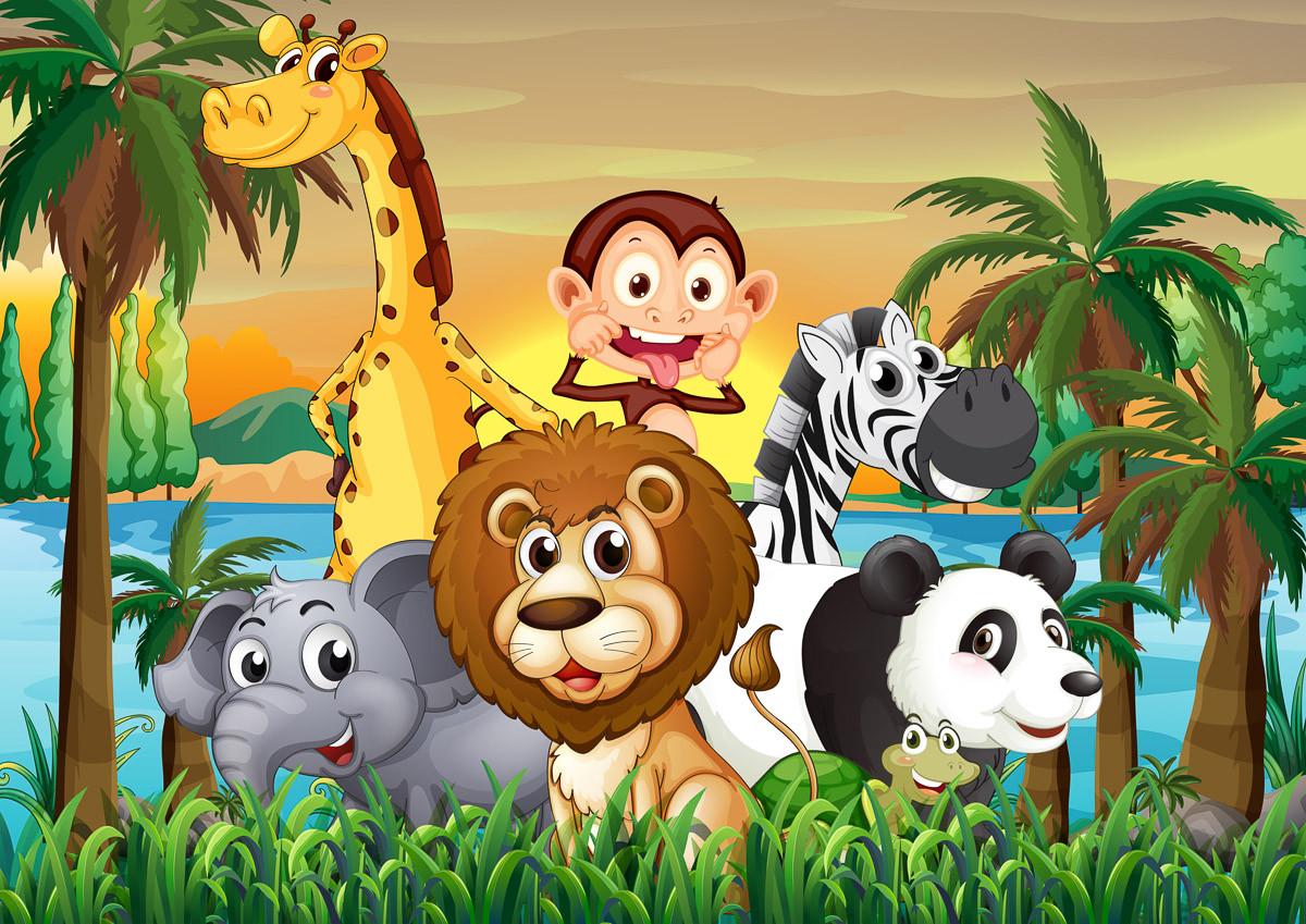 Dschungeltiere