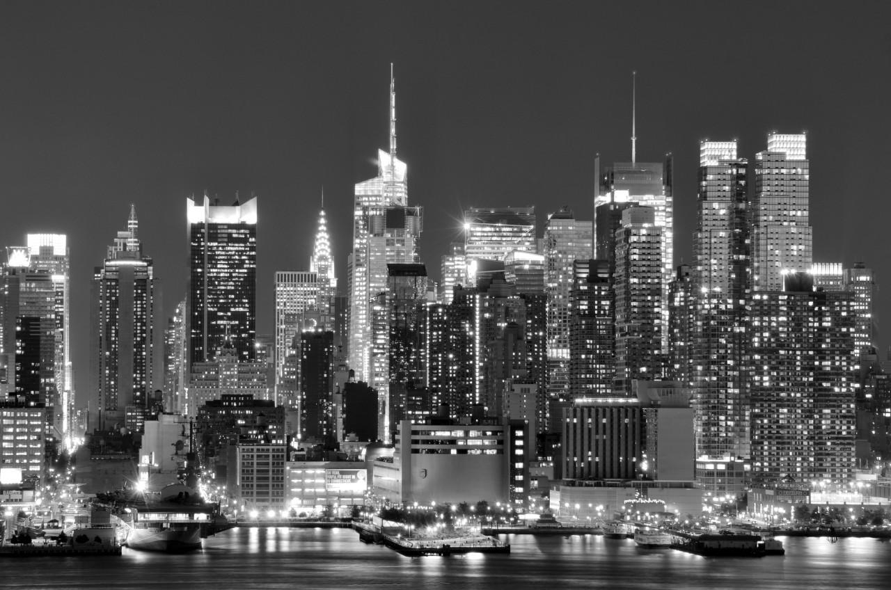 New York, City Schwarz & Weiß