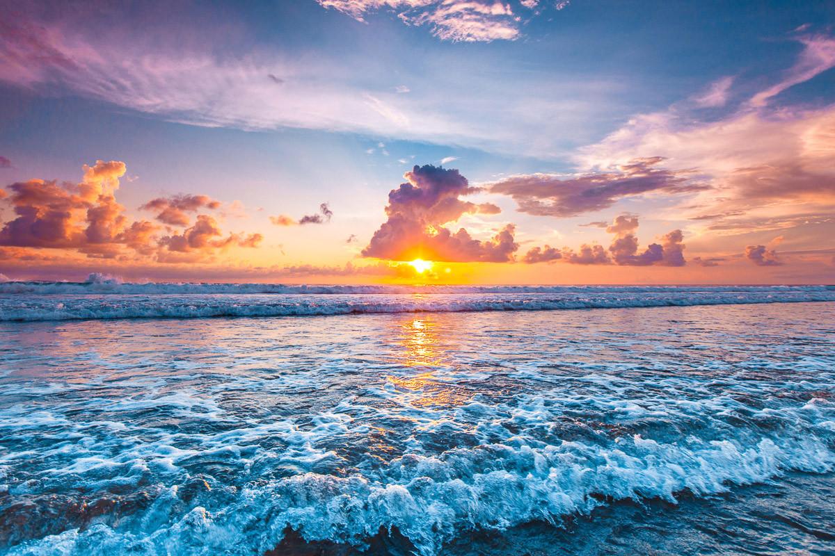 Ocean Sunset Beach