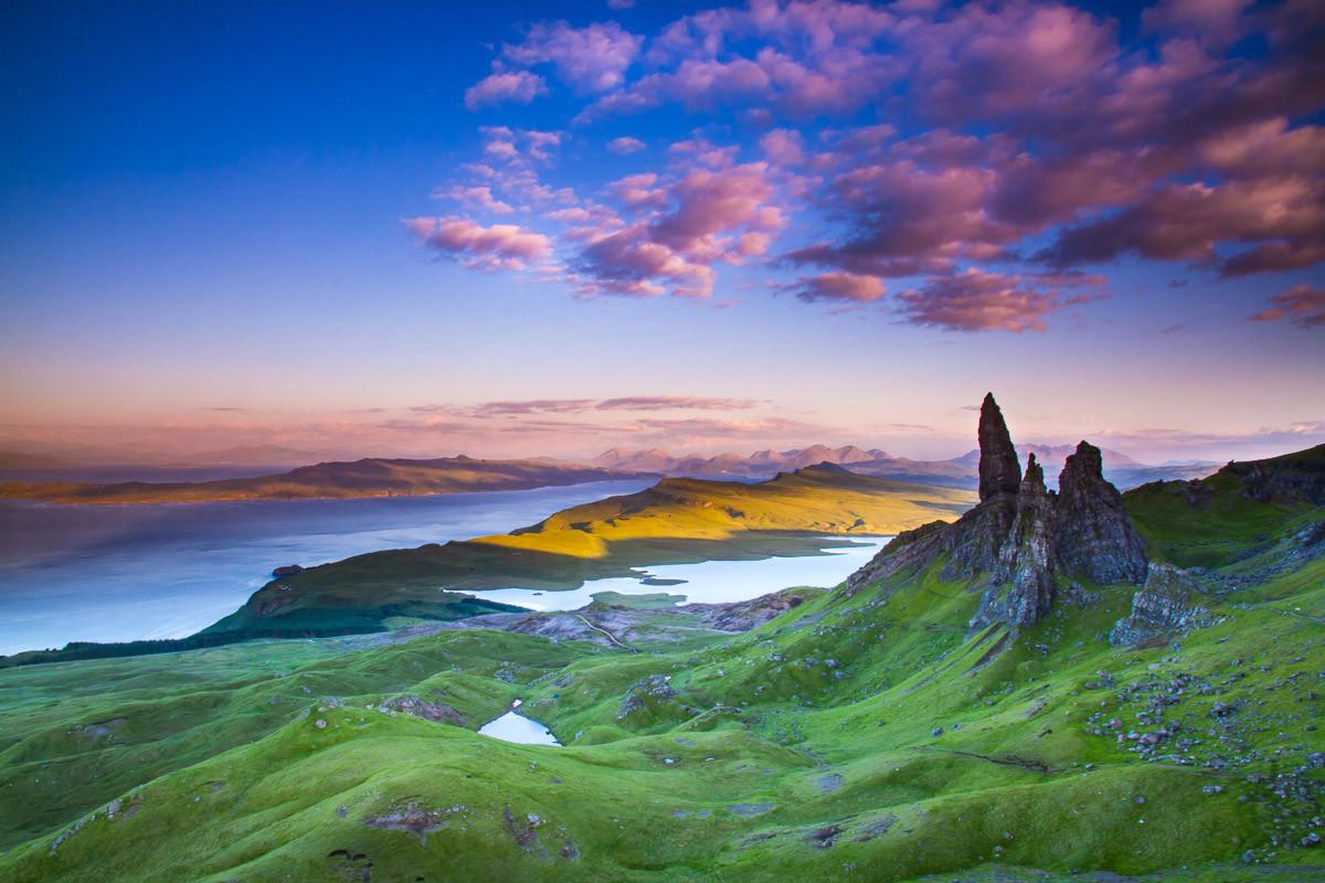 Hochland Schottland