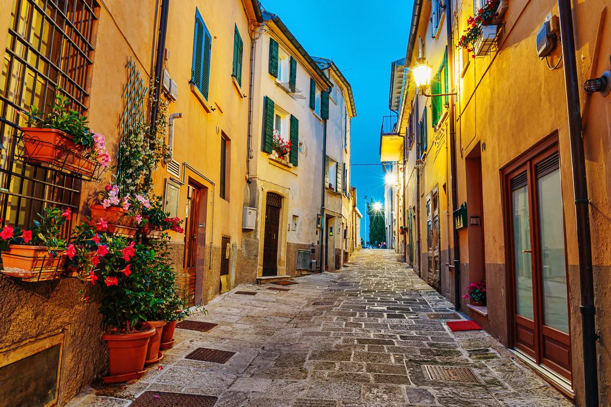 Altstadt in Italien