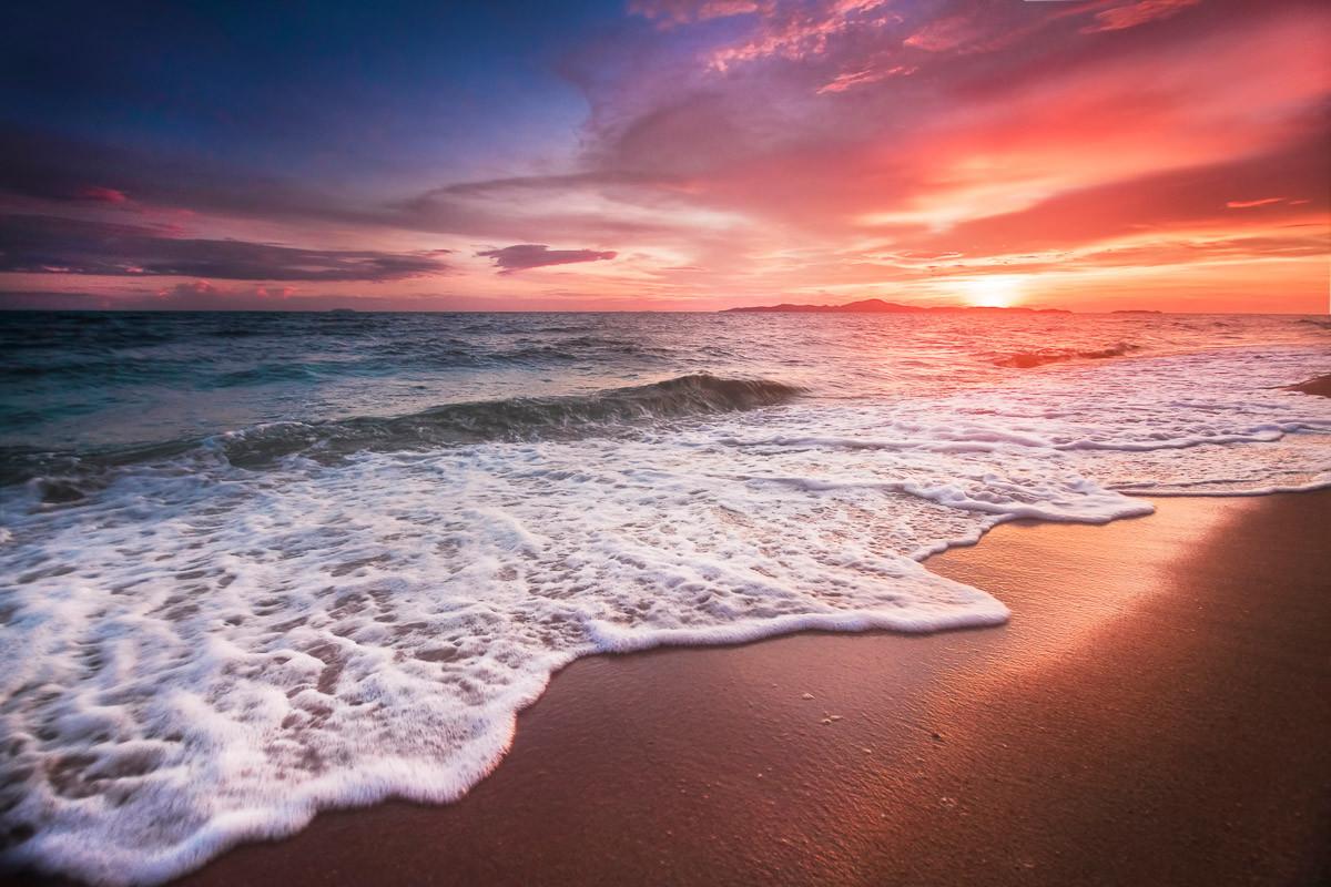 Schöner Sonnenstrand Thailand