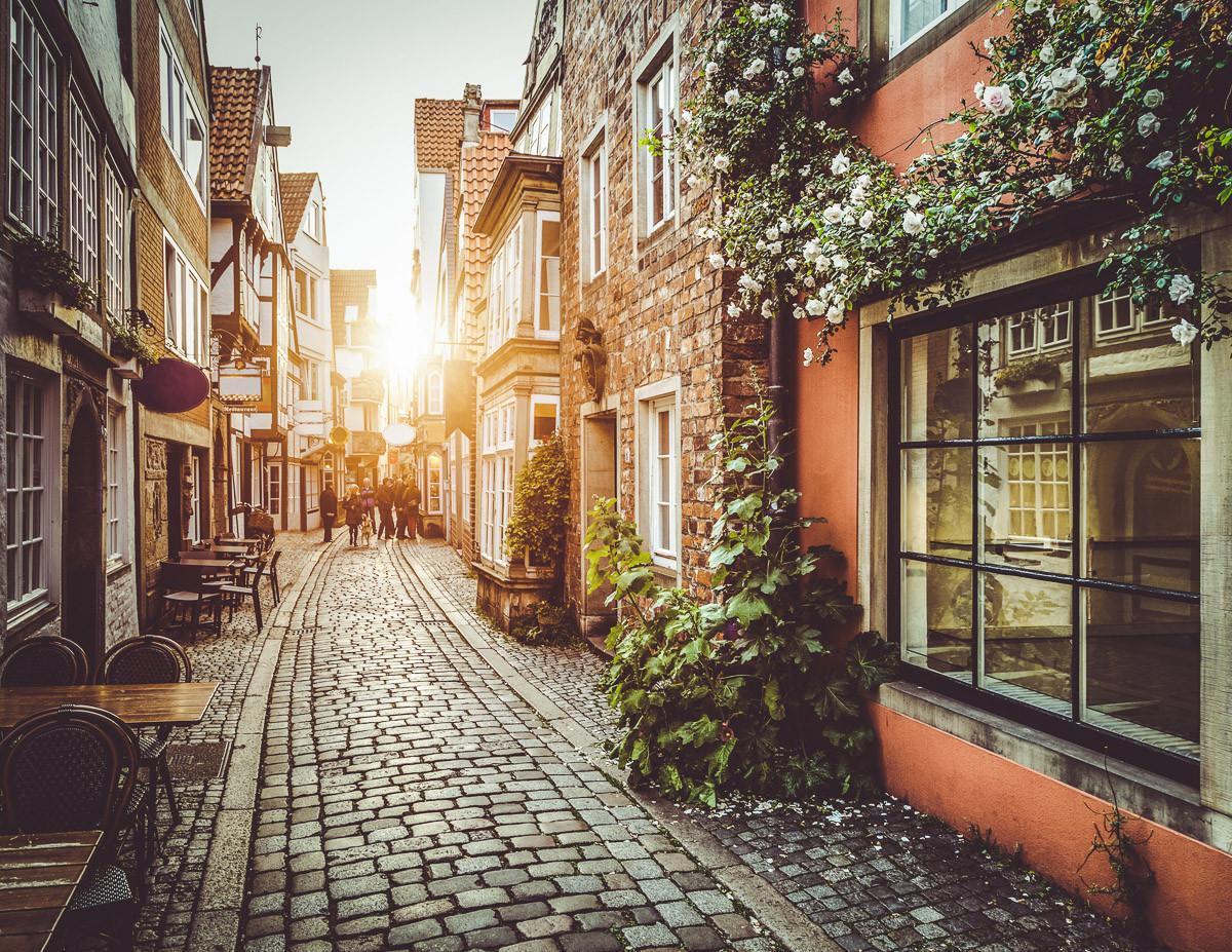 Altstadt in Belgien