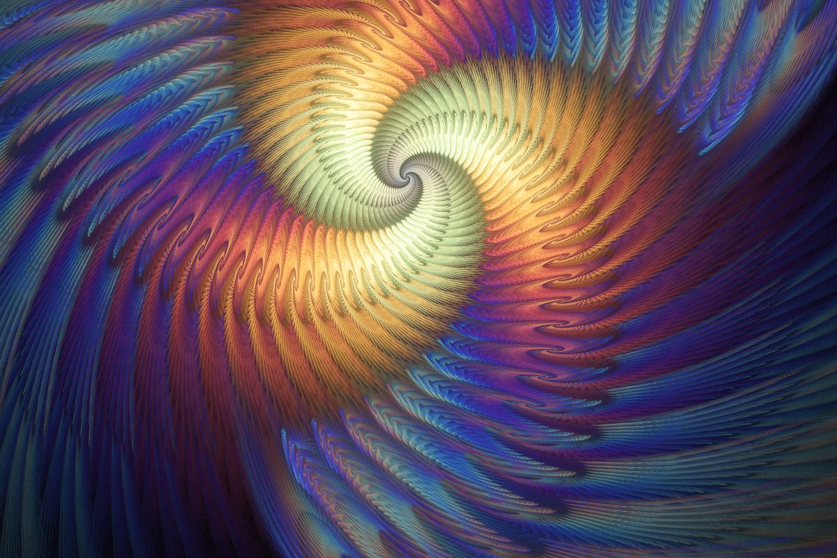 Psychedelische Spirale