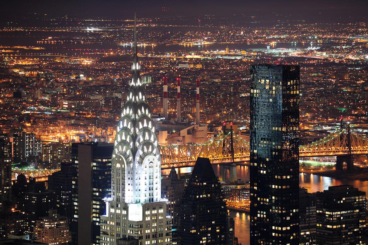 Chrysler Gebäude New York
