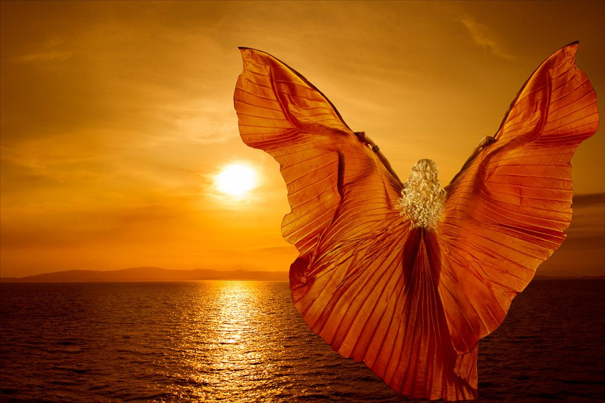 Schmetterling Fantasy Frau