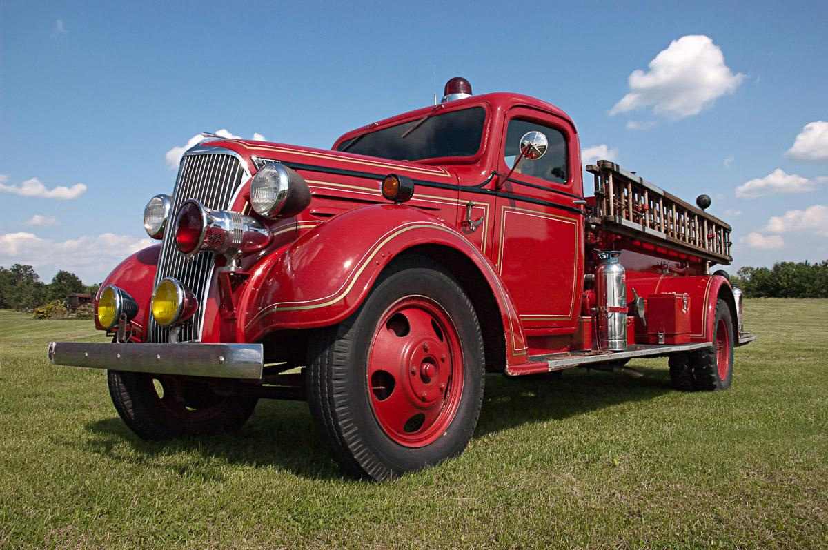 Vintage Feuerwehrauto