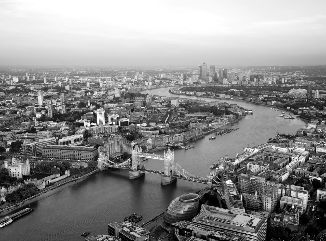 London Schwarz & Weiß