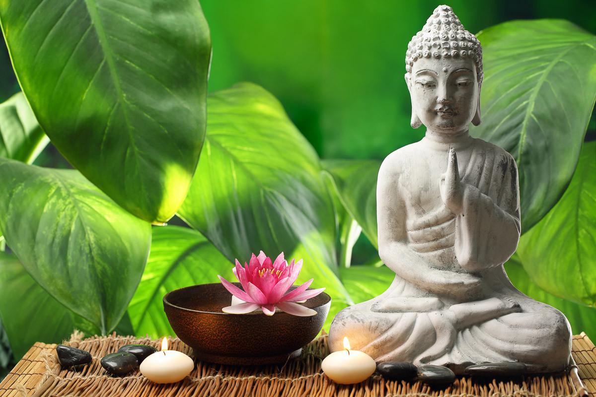 Buddha in der Meditation