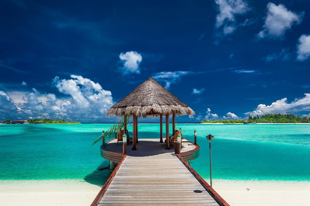 Bootsanleger Malediven