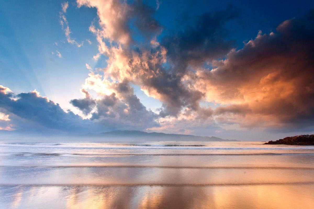 Strand Morgen Sonnenaufgang