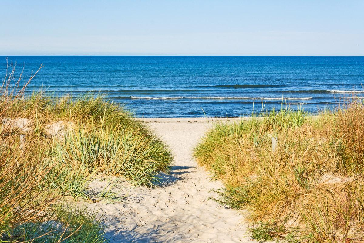 Zugang zum Strand
