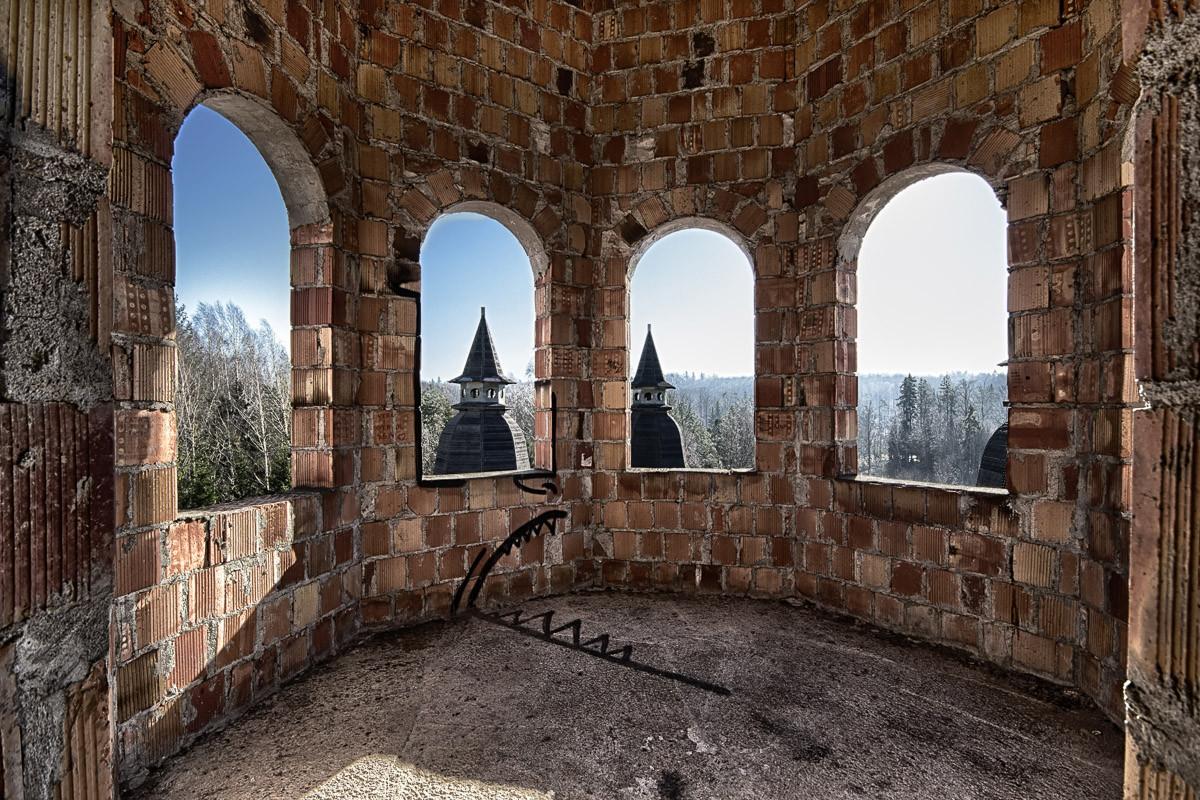 Verlassenes Schloss