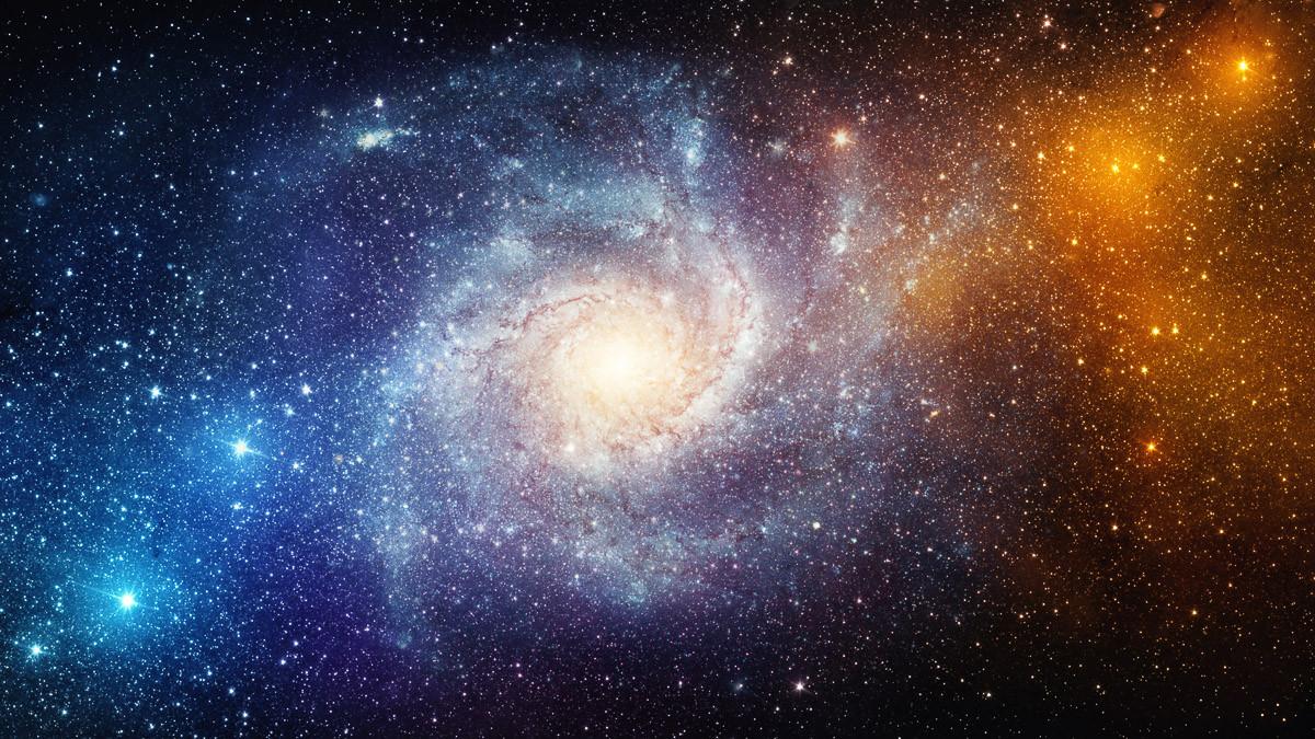Universe Stars Nebula Galaxy.