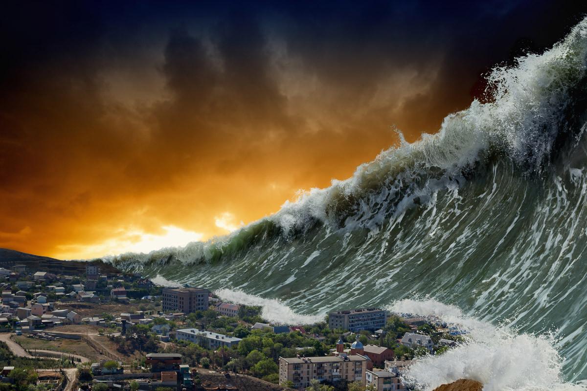 Apokalyptischer Tsunami