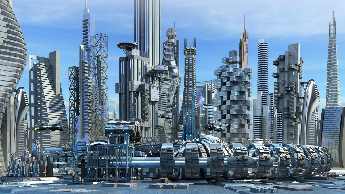 Science-Fiction-Skyline