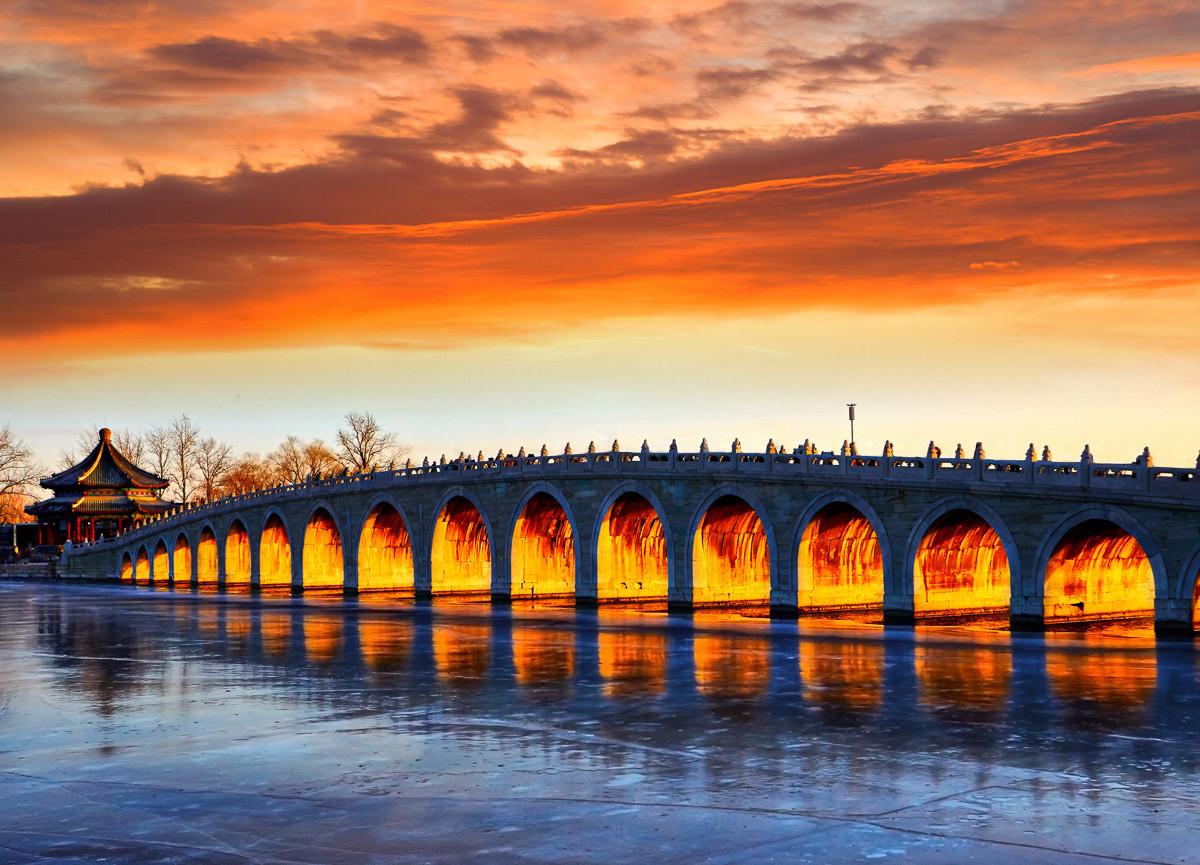 Beijing Summer Palace Bridge