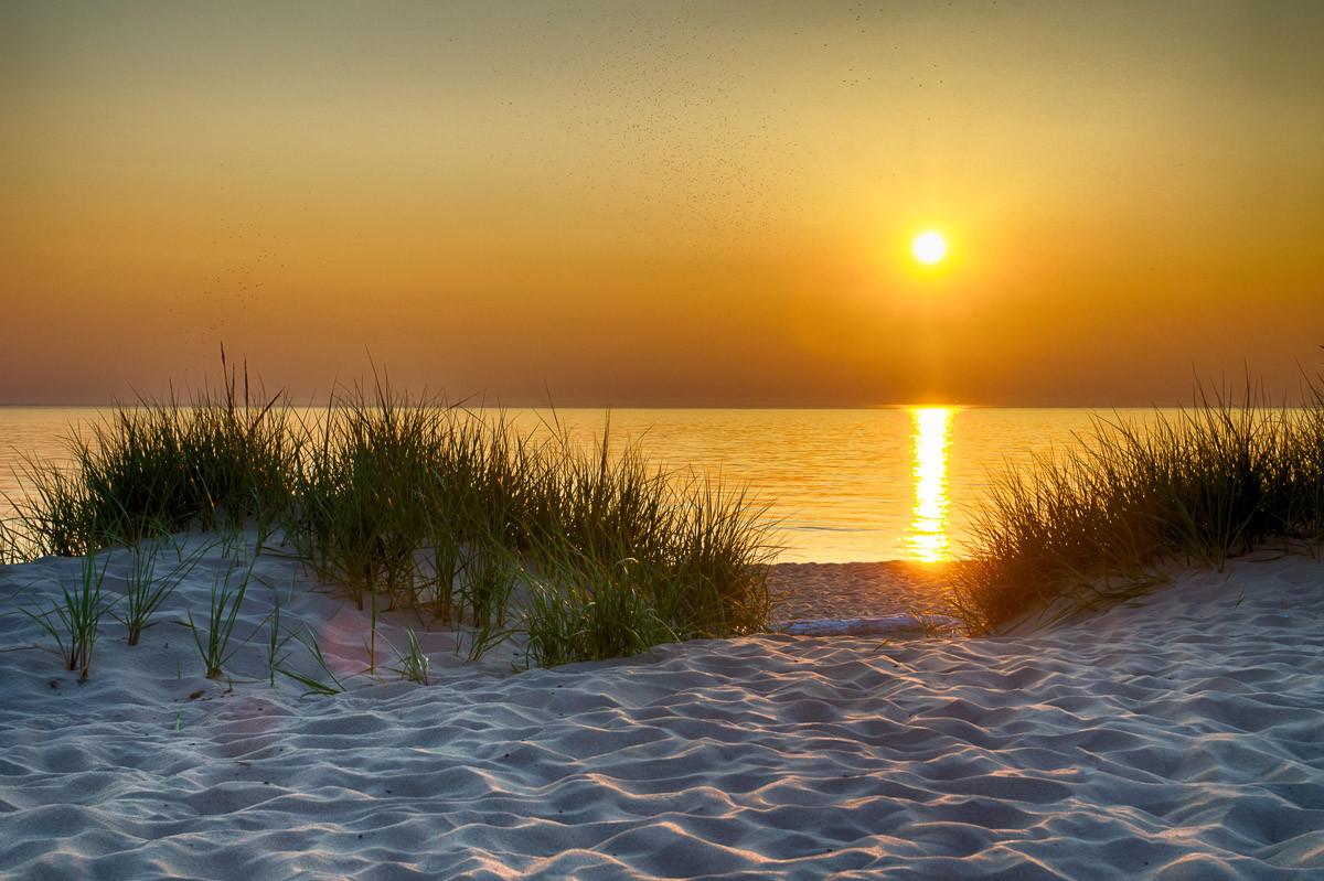 Dunes Lake Michigan