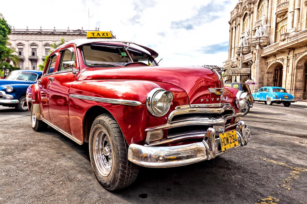 Altes Kuba-Auto