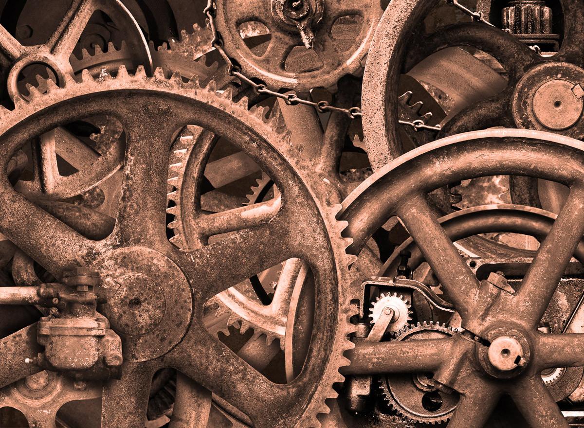 Industrieller Steampunk