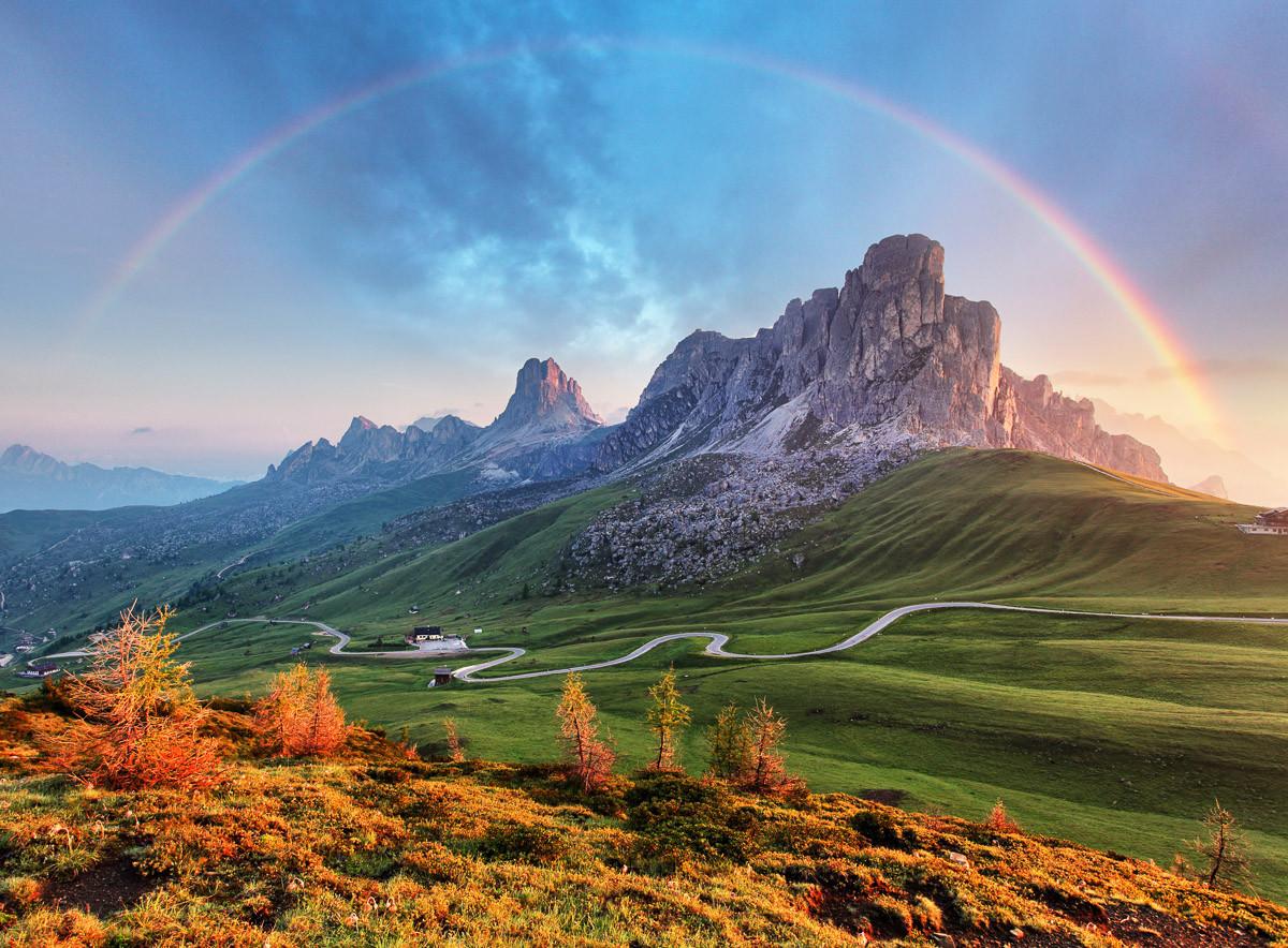 Bergregenbogen