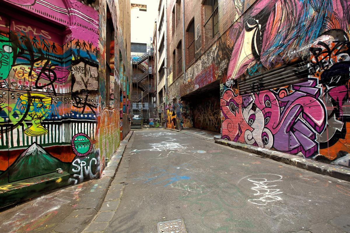 Graffiti-Gasse