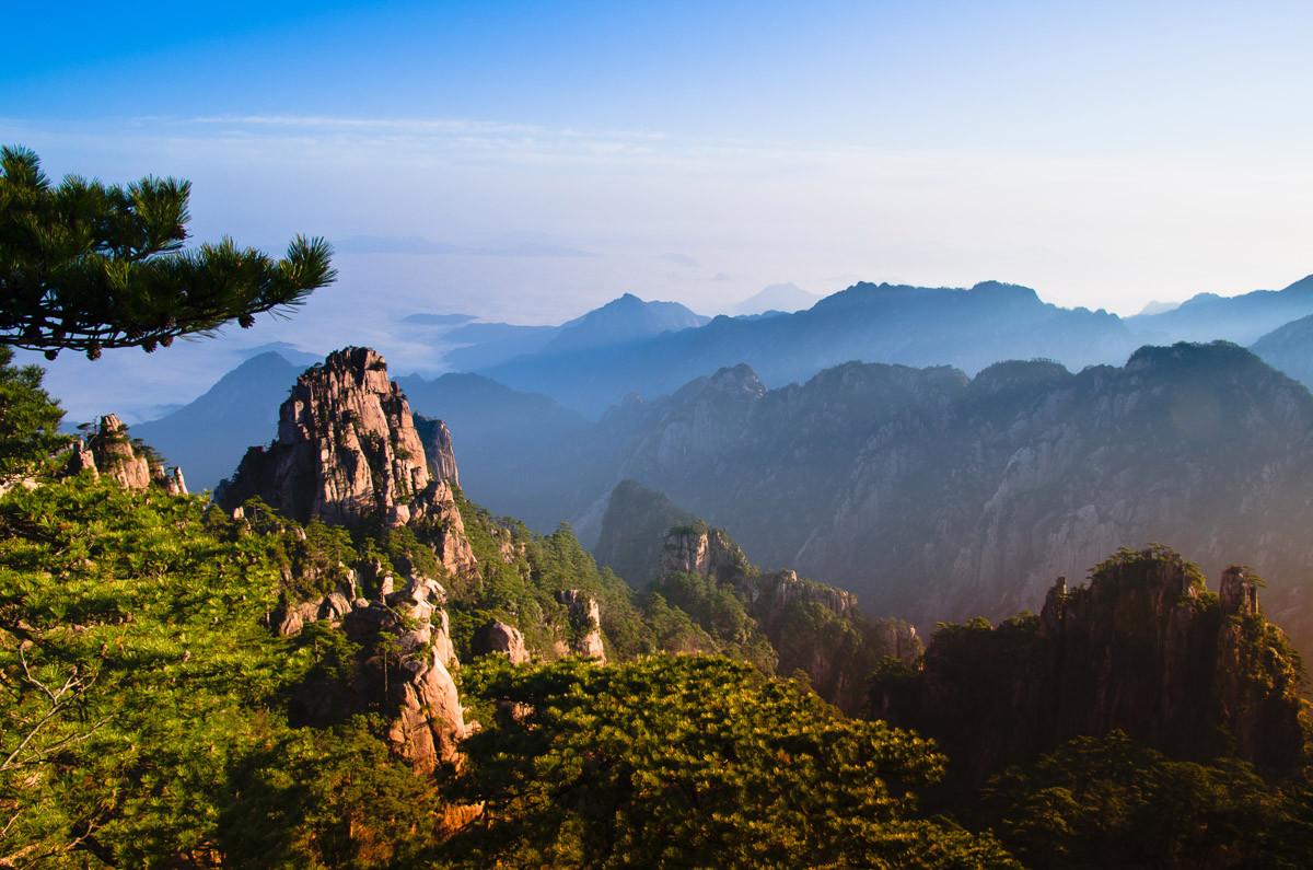 Berg Huangshan