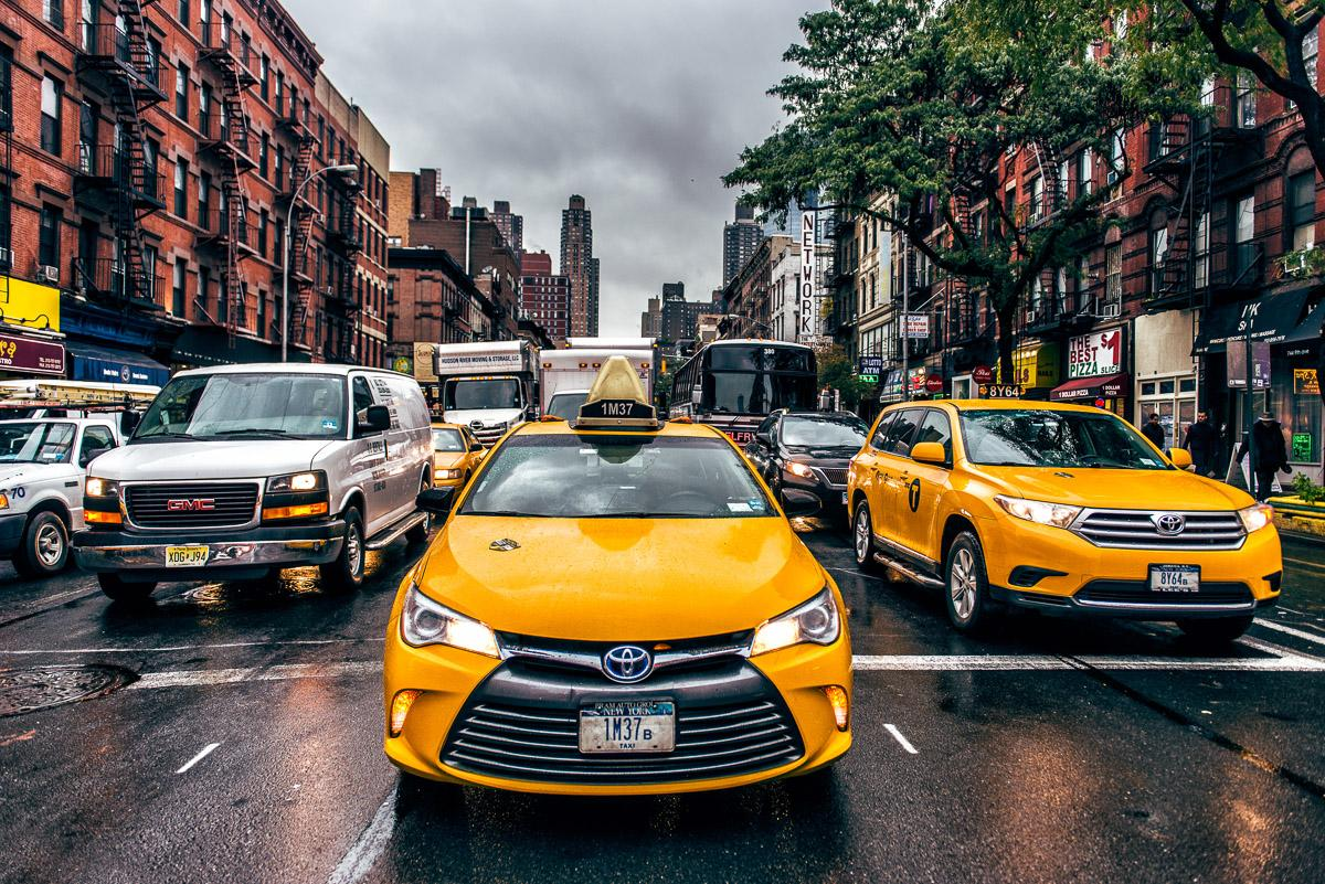 New Yorker Taxis