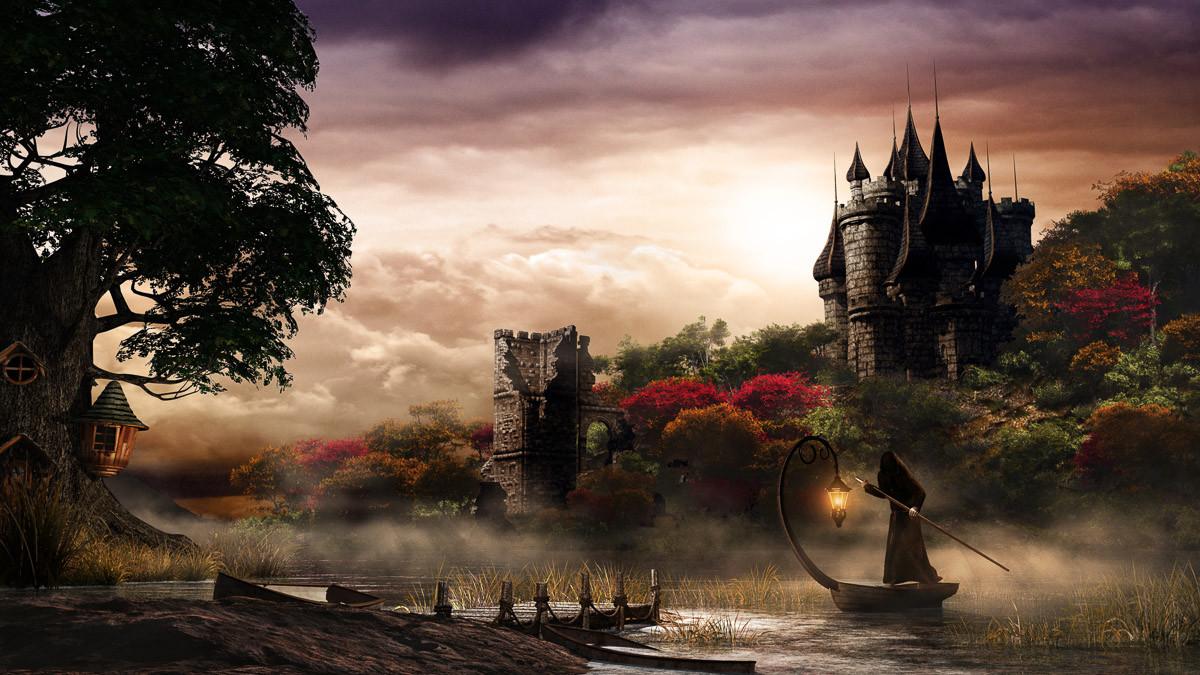 Mystery Lake und Castle