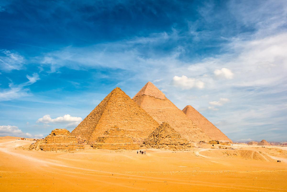 Große Pyramiden in Gizeh