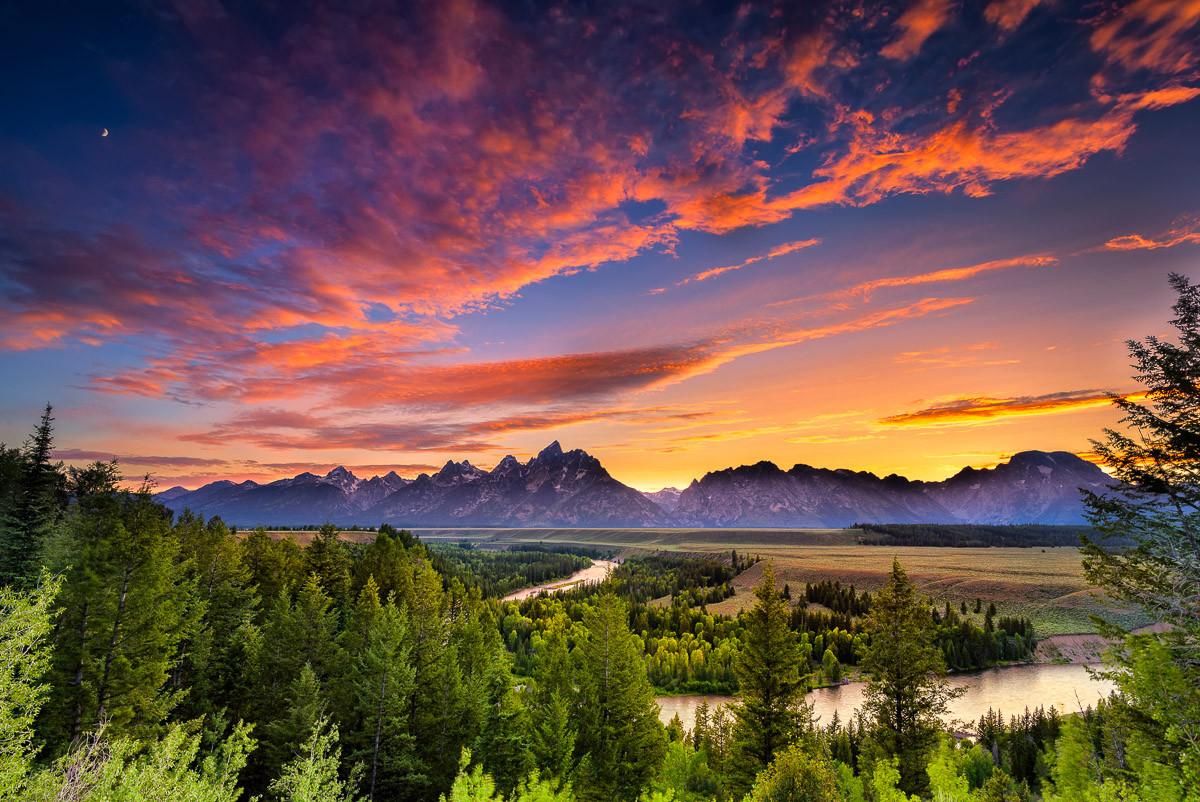Snake River Sonnenuntergang