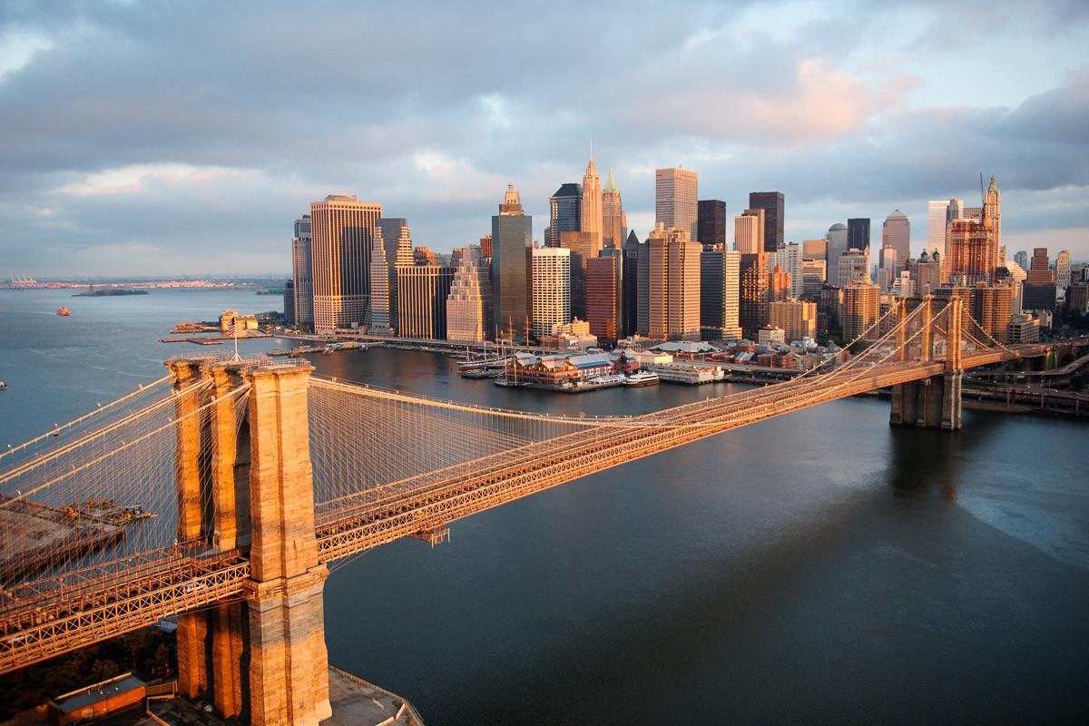 Brooklyn Bridge Morgen