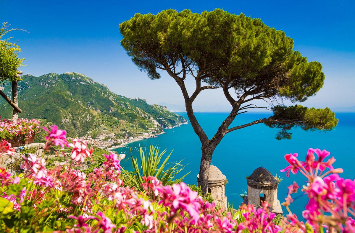 Kampanien Amalfiküste