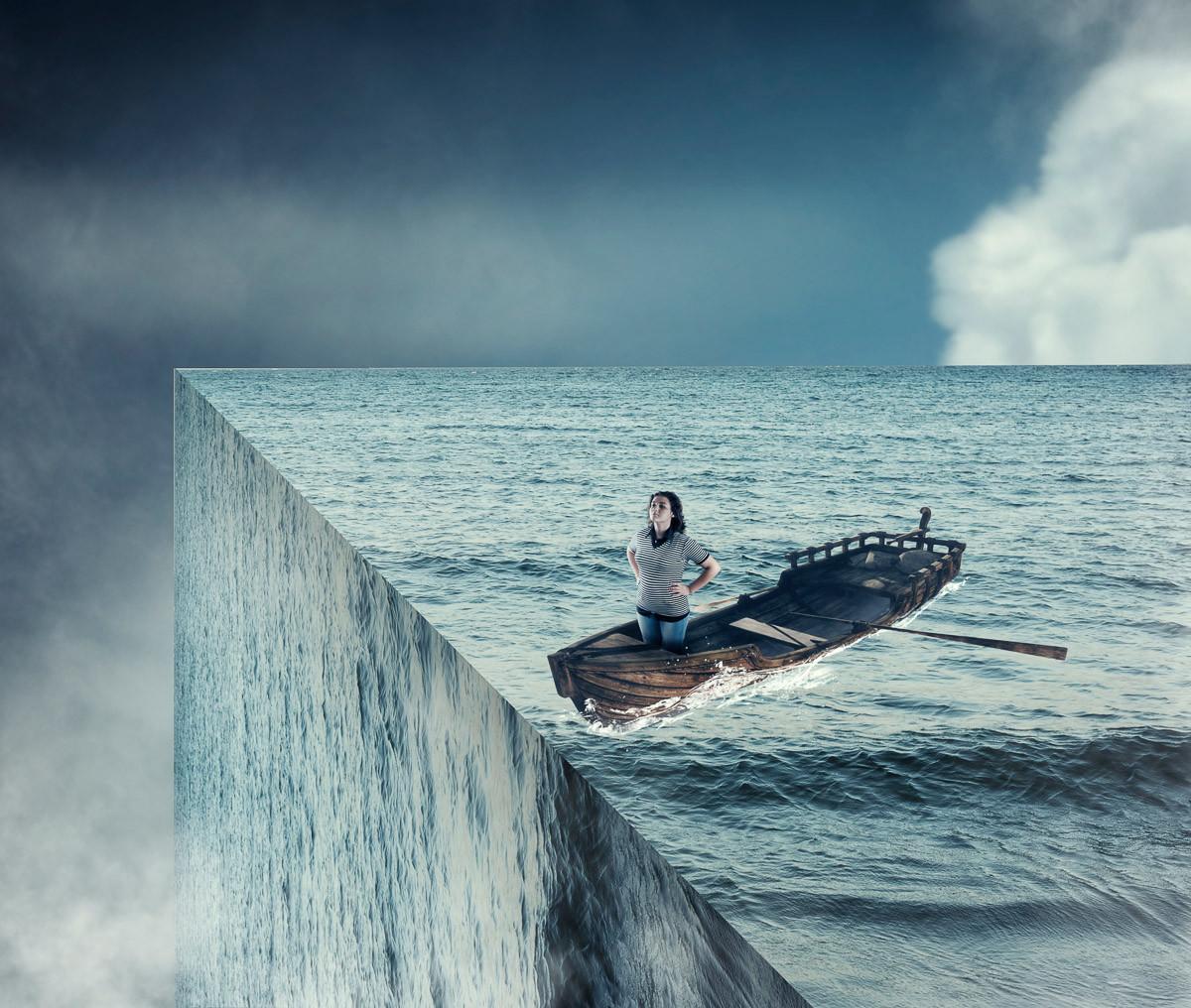 Rand des Ozeans