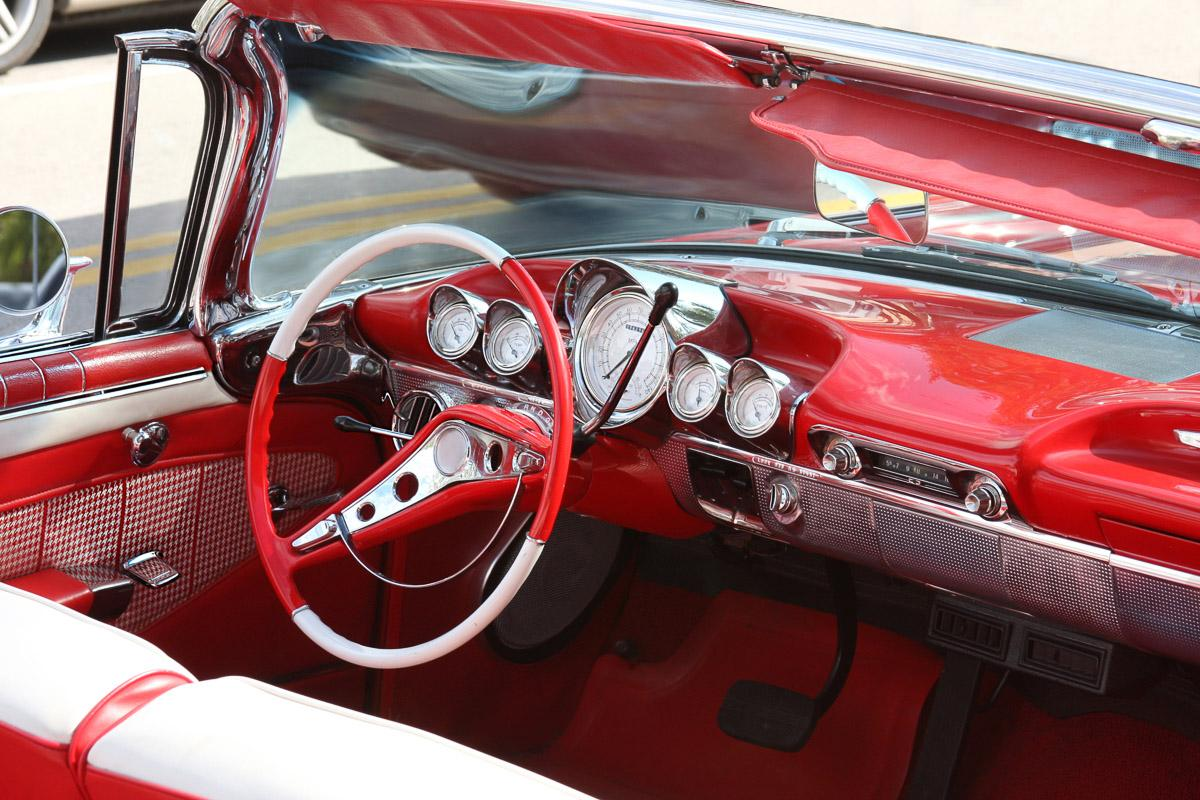 Cabrio Autoinnenraum