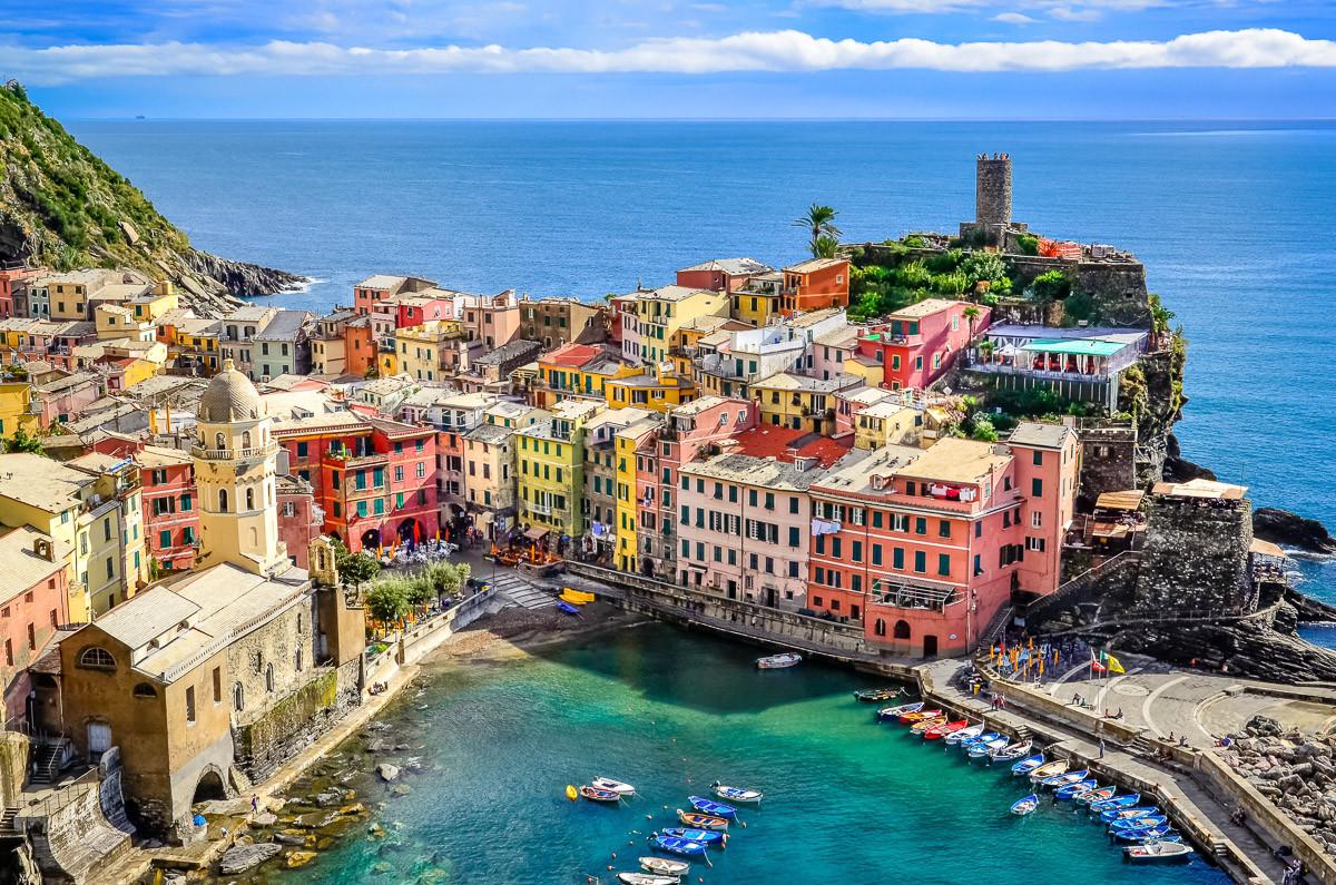 Buntes Dorf Vernazza, Cinque Terre