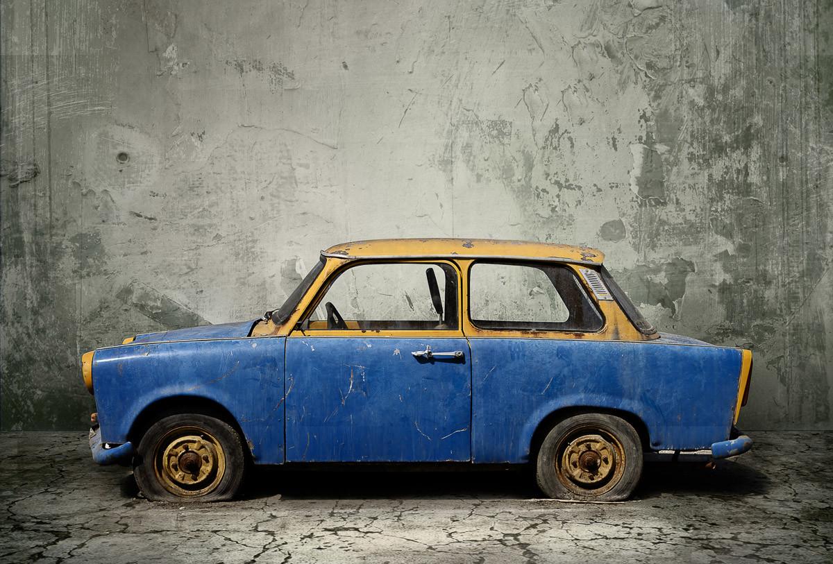 Vintage rostiges Auto