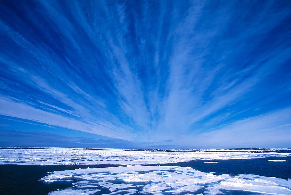 Arktischer Himmel