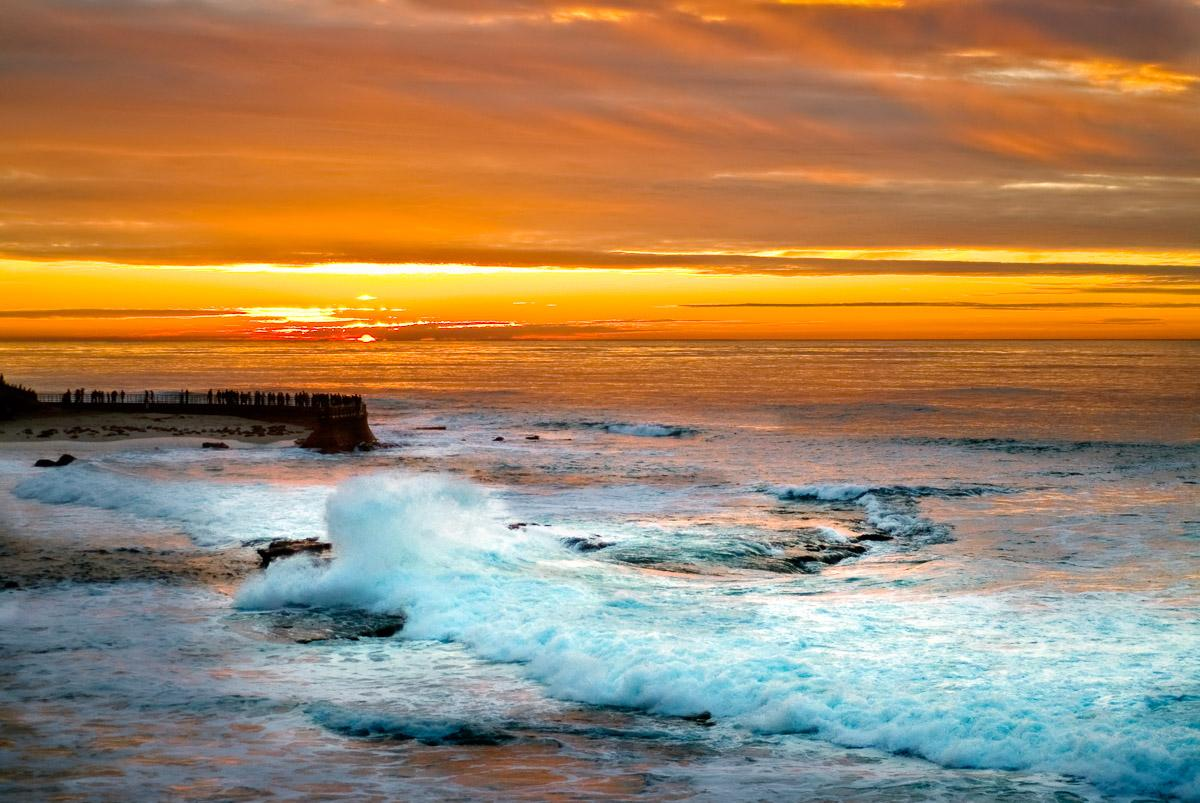 Sonnenuntergang in la Jolla