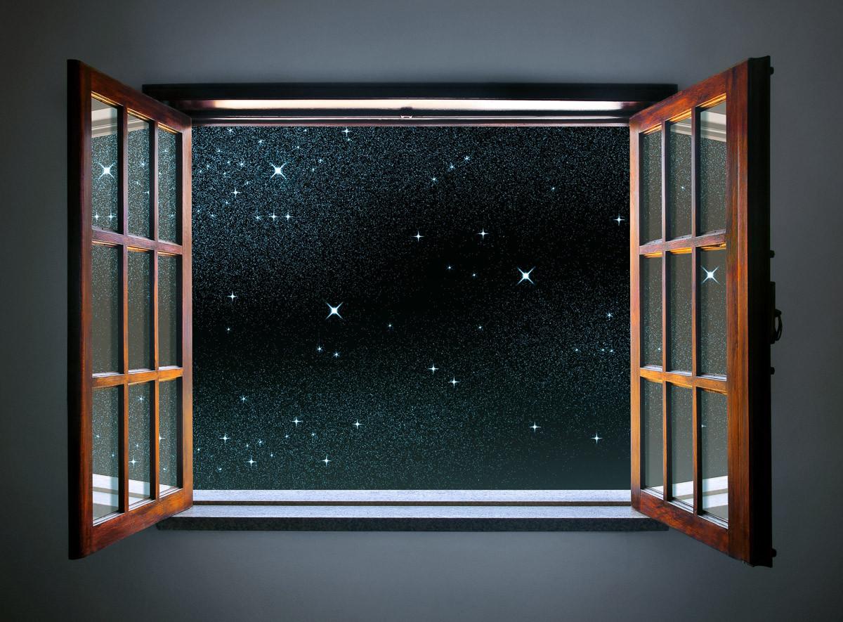 Klarer Sternenhimmel