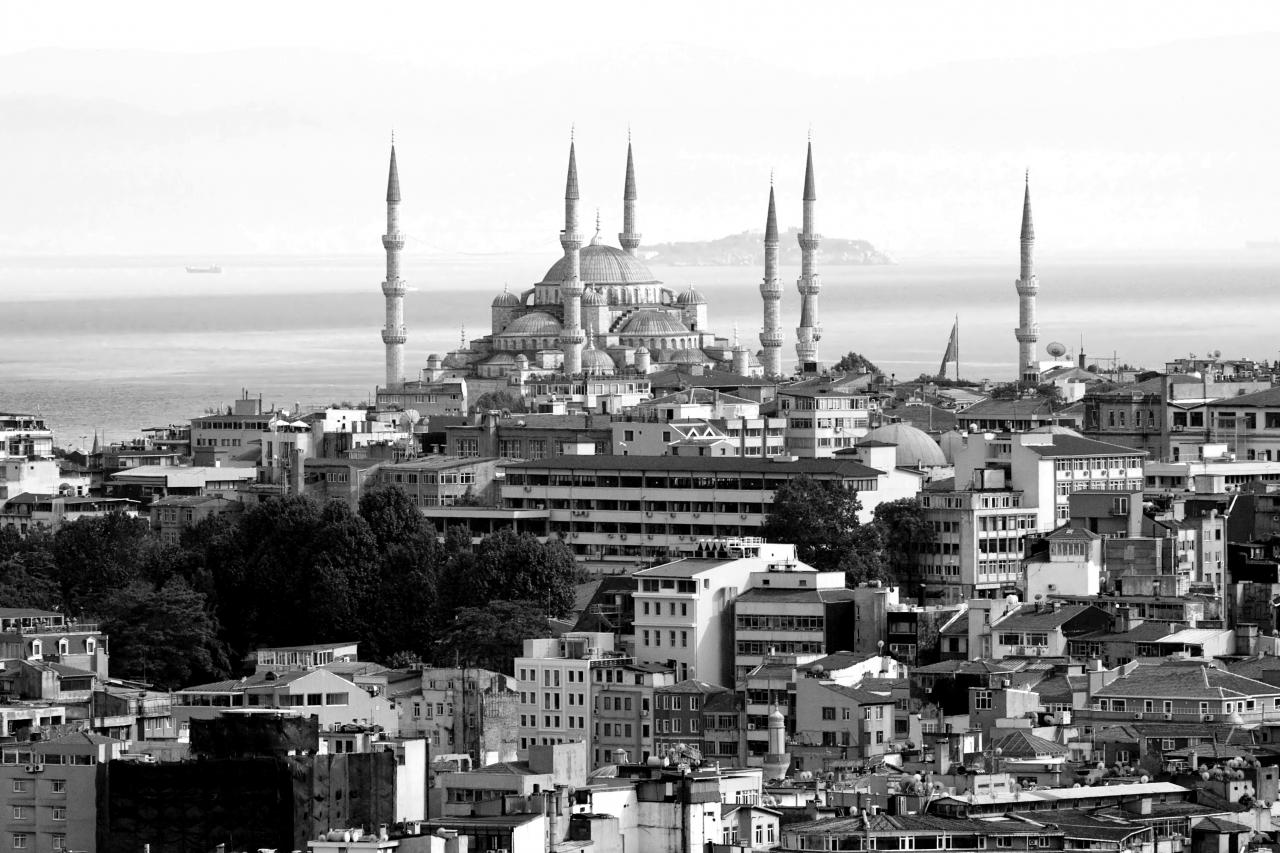 Stadt schwarz & weiß