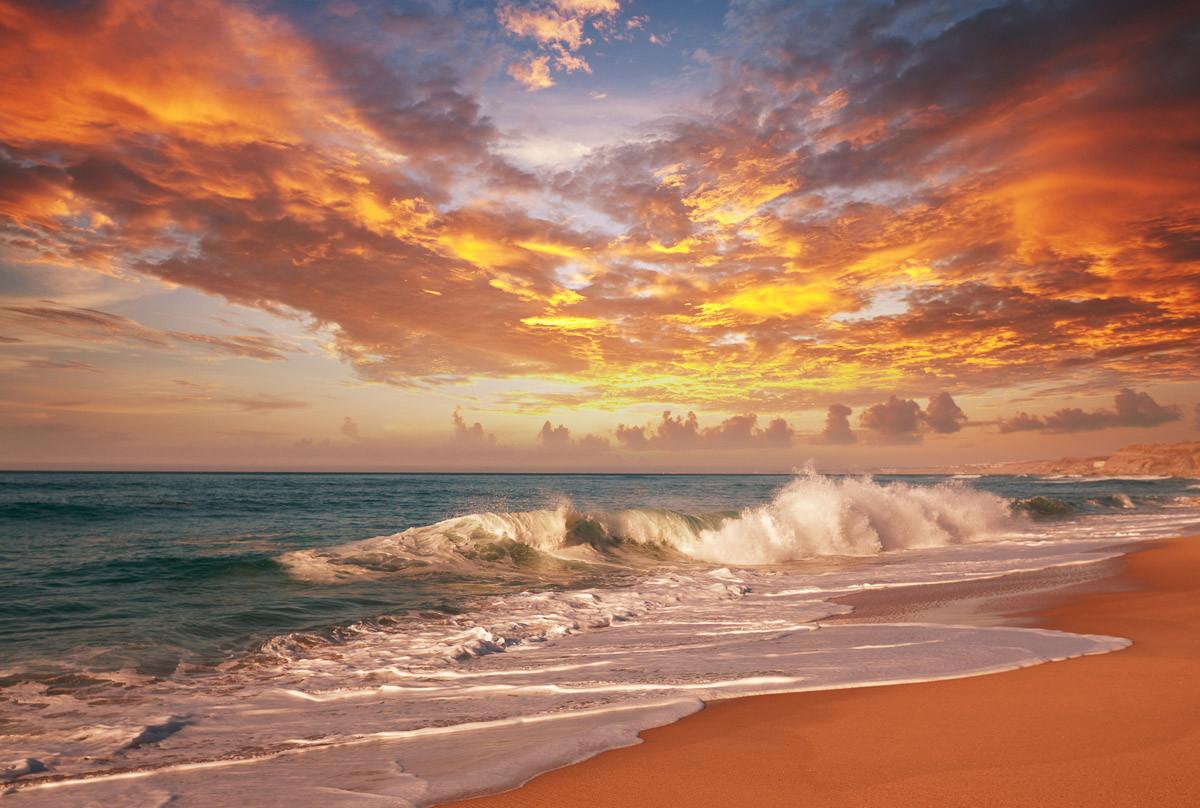 Meeressonnenuntergang