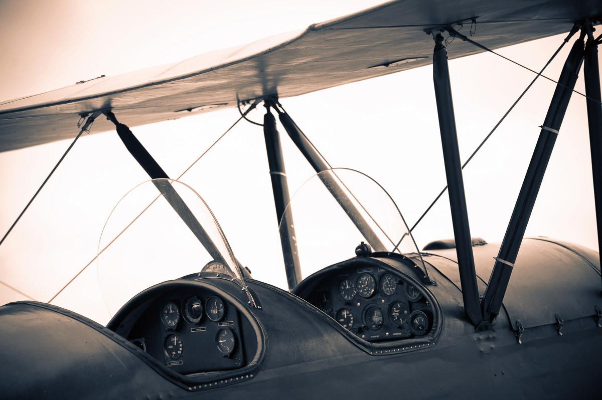 Vintage Flugzeug