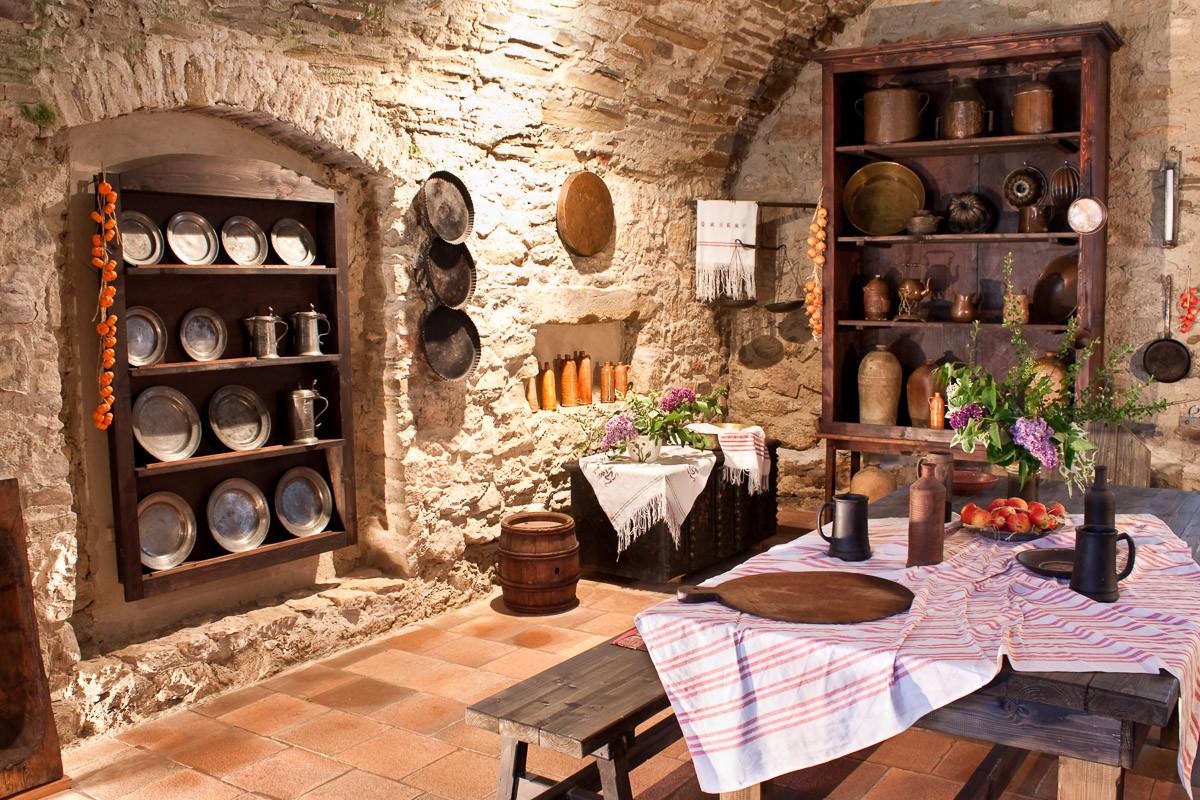 Alte Küche des Schlosses