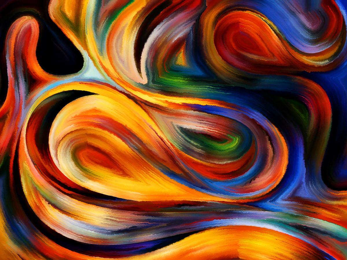Abstrakte Spiritualität