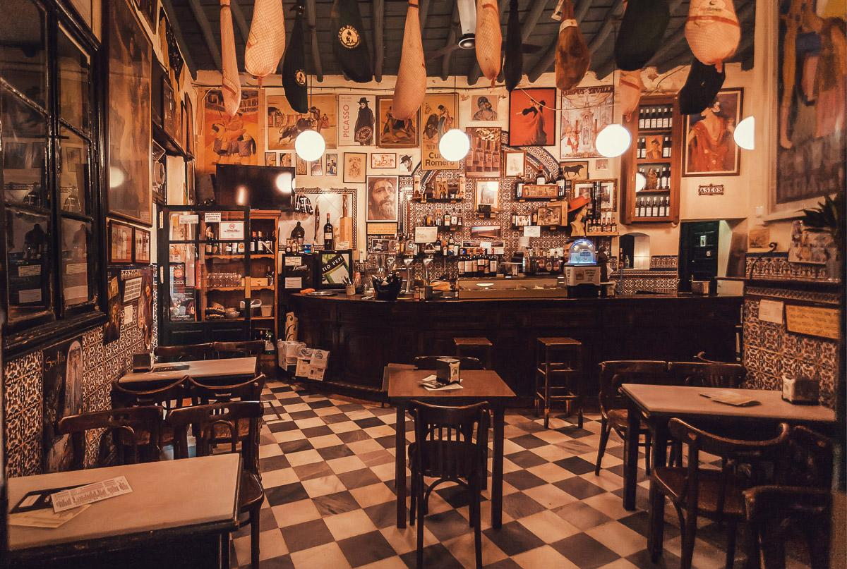 Vintage Style Restaurant